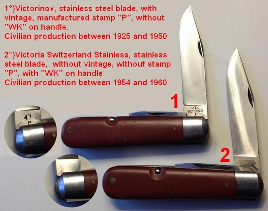 Les Couteaux Du Soldat De L Arm 233 E Suisse Civilian Knives