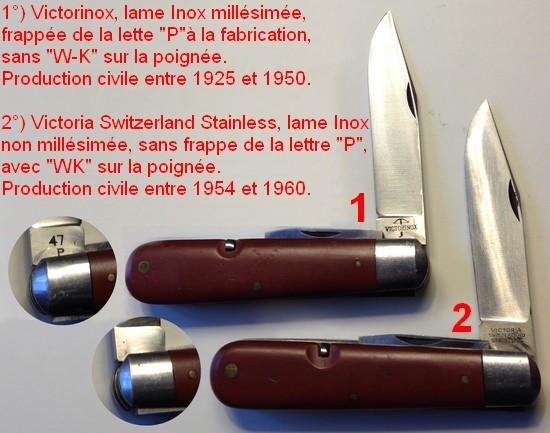 Les Couteaux Du Soldat De L Arm 233 E Suisse Couteaux Civils