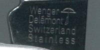 Wenger - Delemont Switerland Stainless