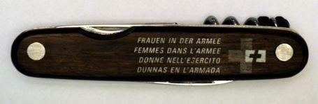 Knife for women in the Swiss Army (**)
