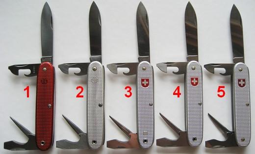 Les Couteaux Du Soldat De L Arm 233 E Suisse 1961 Models